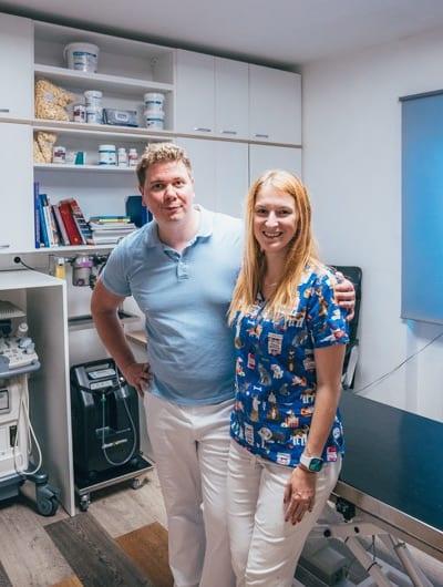 Veterinární ordinace U Beránků – David a Mirka Beránkovi